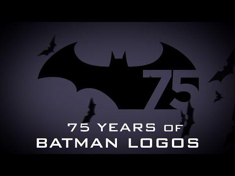 evoluzione del logo di batman nel tempo