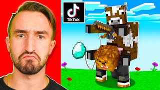 I Tested 5 More VIRAL TIKTOK Minecraft Hacks