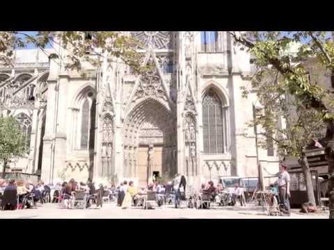 Painting Notre Dame, Paris & Rouen Cathedral