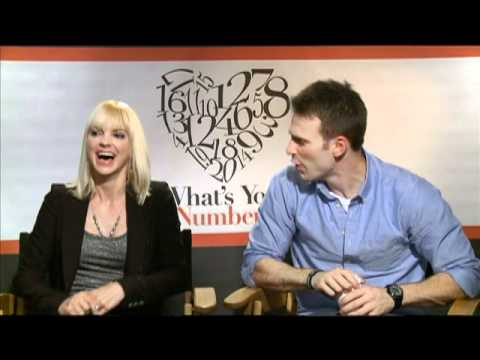 Anna Faris - Emmy nominated Jake Hamilton talks with Anna Faris and Chris Evans about their new romantic comedy, WHAT'S YOUR NUMBER -- only on JAKE'S TAKES! Follow Jake a...
