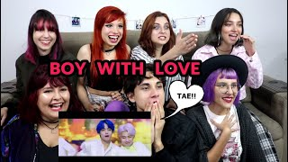 Video BTS (방탄소년단) '작은 것들을 위한 시 (Boy With Luv) feat. Halsey l MV REACTION MP3, 3GP, MP4, WEBM, AVI, FLV April 2019