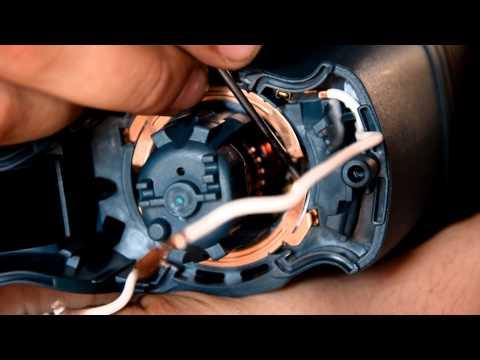 замена электрощетки в дрель