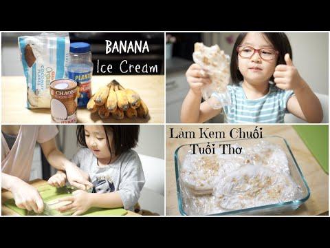 Cách Làm Kem Chuối Tuổi Thơ Cực Đơn Giản ♥ Vietnamese Banana Ice Cream  | mattalehang - Thời lượng: 8 phút, 25 giây.