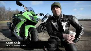10. 2010 Kawasaki ZX-10R vs its 2009 predecessor