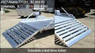 10. 2017 Aluma 7712H  for sale in Sycamore, IL 60178 at Rondo Tr