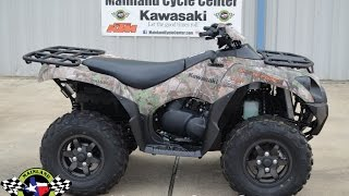 4. SALE $8,749:  2017 Kawasaki Brute Force 750 EPS Camo Overview and Review