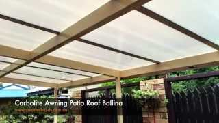 Carbolite Awning Patio Room Ballina