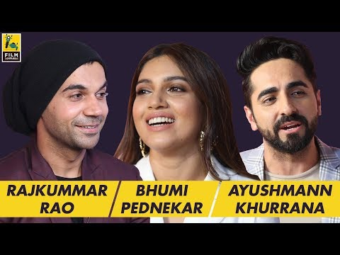 Rajkummar Rao, Ayushmann Khurrana & Bhumi Pednekar Interview with Anupama Chopra