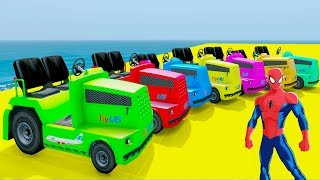 Learn Colors LAWN MOWERS & Bulldozer Truck w Colors Minions In Superheroes And Spiderman For KidsWelcome to Car And Friends Channel. Video Learn Color & Number For KidsThis Channel is about cartoon characters as Spiderman, Hulk, Elsa...with music as finger family, nursery rhymes For Children!Thank For Watch!Playlist :Collection Learn Numbers Video For Kids With Spiderman Cars  : https://www.youtube.com/watch?v=LGEMBndDVZs&list=PLeiK9SGD5dcyj_n1Hp0Z4Yx6mc3jPrnOjCollection Learn Colors For Kids With Spiderman Cars Cartoon :https://www.youtube.com/watch?v=LGEMBndDVZs&list=PLeiK9SGD5dczlFB53UXxxW4RDKgKE1vc-Learn Colors Cars with Spiderman Nursery Rhymes  : https://www.youtube.com/watch?v=LGEMBndDVZs&list=PLeiK9SGD5dcwwwtCHLWgk0Unc5DTjEhfbLearn Number Cars And Trucks W Spiderman Cars Cartoon : https://www.youtube.com/watch?v=LGEMBndDVZs&list=PLeiK9SGD5dcxCq5t6fbAHtUaPjIRqSMFy