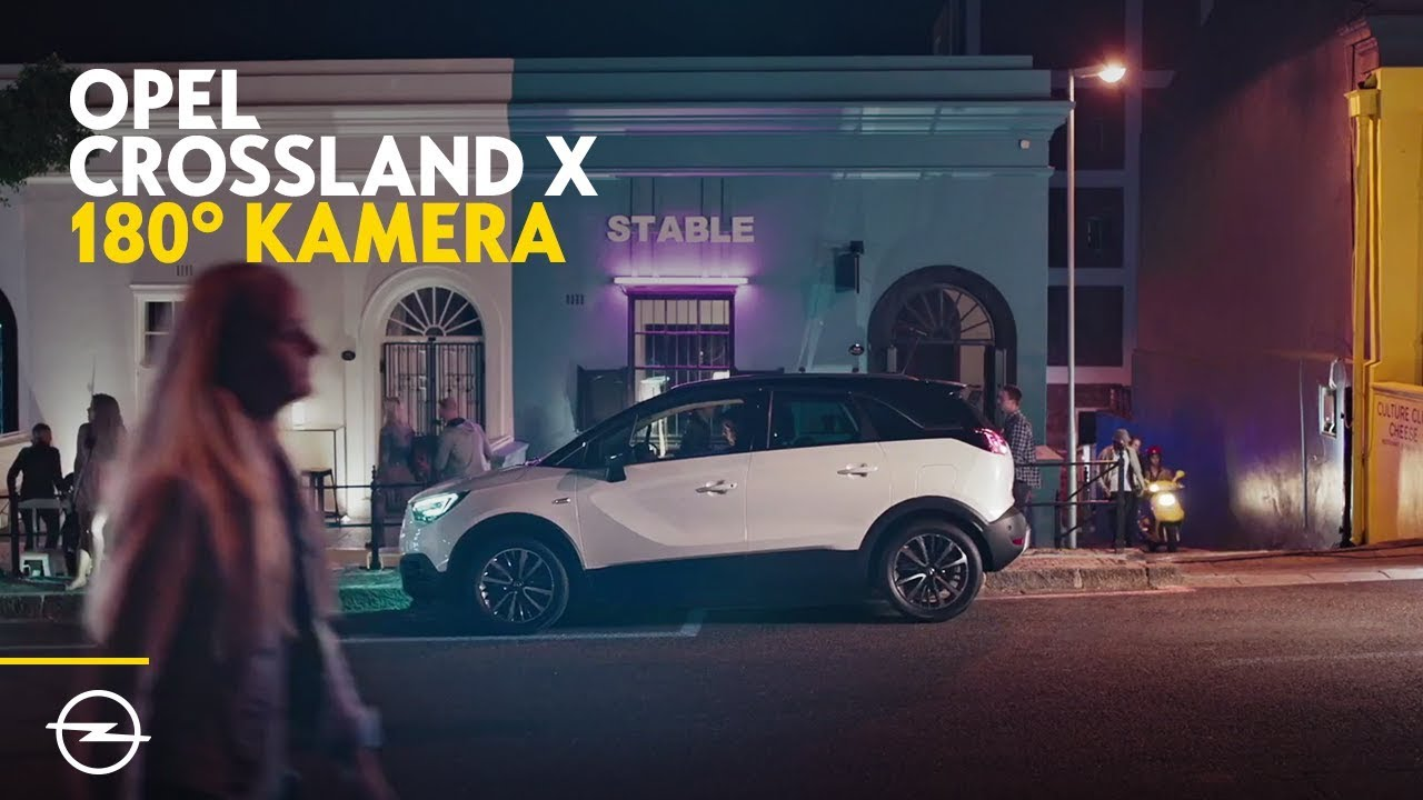 Opel Crossland X: 180-Grad-Panorama-Rückfahrkamera