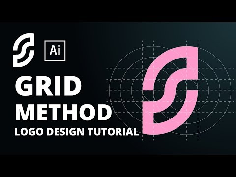 How To Design A Logo With Grid | Adobe Illustrator Tutorial