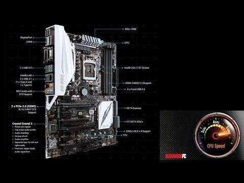 Как разогнать i7-6700K на плате ASUS Z170-A?