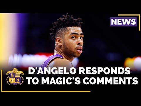 Video: D'Angelo Russell Has A Response For Magic Johnson's Comments About Him
