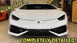 Rebuilding A Wrecked Lamborghini Huracan Part 22