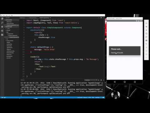 Learn about Components and input controls in React Native - Part 2