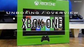Xbox One Gaming Console Unboxing & Overview