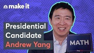 Meet Democrat Andrew Yang Running For President on Platform Of Free Cash