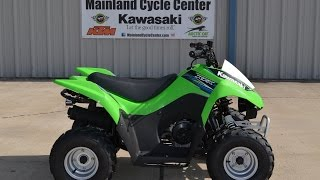 10. $1,999: 2014 Kawasaki KFX50 Youth ATV Overview and Review