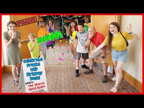 Pulling The Ultimate Hotel Prank - DON'T TELL THE SKORYS! / That YouTub3 Family I The Adventurers