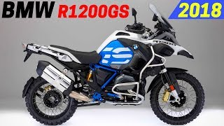 7. AWESOME! 2018 BMW R1200GS And R1200GS Adventure - Updated New Color And Equipment Options