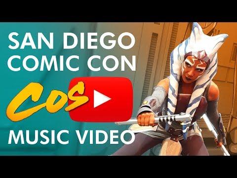 San Diego Comic Con 2019 Cosplay Music Video