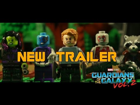 A LEGO Version of The Guardians of the Galaxy