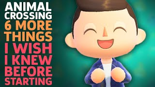 6 More Things I Wish I Knew Before Starting Animal Crossing: New Horizons by GameSpot