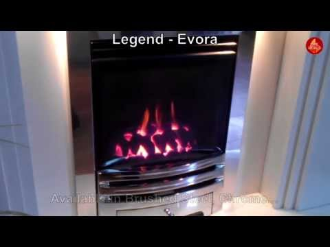 Legend - Evora (High Efficiency, Glass Fronted Fire)
