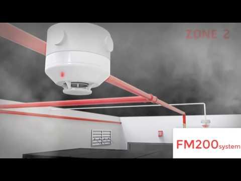 Nguyên lý hoạt động hệ thống chữa cháy khí FM-200