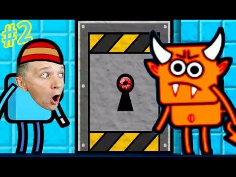 ПОБЕГ из КОМНАТЫ #2 в игре Escape that level Яркая мультяшная игра с героями и квестами канал FFGTV (видео)