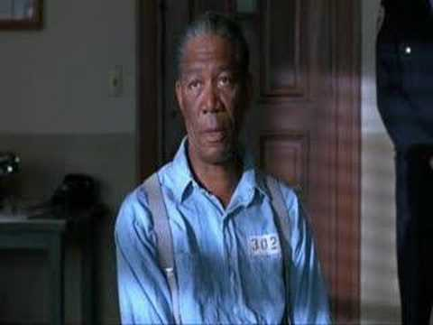 rehabilitation - favorite scence from shawshank redemption.