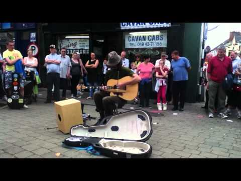 The Best Busker In The World at Cavan Fleadh 2012