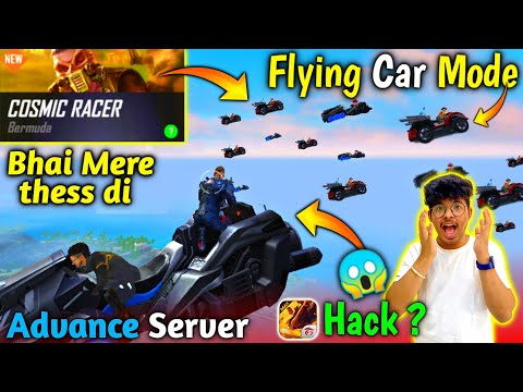 Flying  Cars 😂 || New Mode in Freefire :- Cosmic Racer - All New Advance Server & Updates