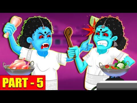 Foodie Ghosts - Part 5 | తిండి పిచ్చి దెయ్యాలు | Telugu Stories | Stories in Telugu | Ghost Stories