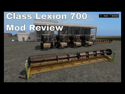 FS17 Claas Lexion 700 Pack v4.0