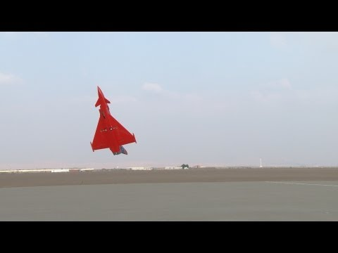 Hovering - Jamal Al Mazrouei and Jamal flying RC jets at UAE TOP JET 2012.