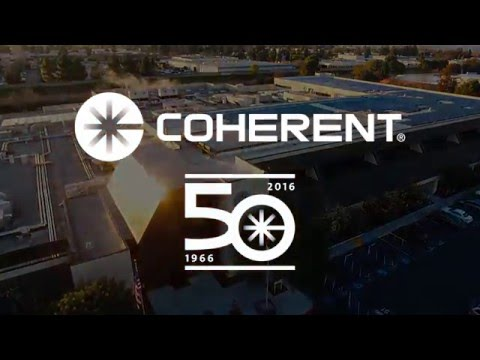 Coherent Celebrating 50 Years of Superior Reliability & Performance