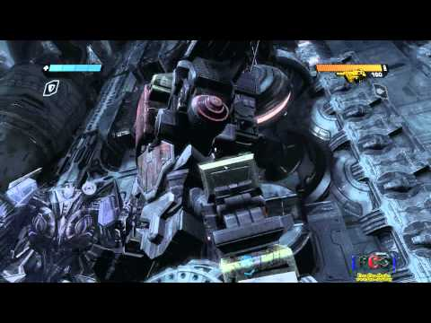 Transformers: War For Cybertron / Omega Supreme & Suicidal Soundwave (HD)