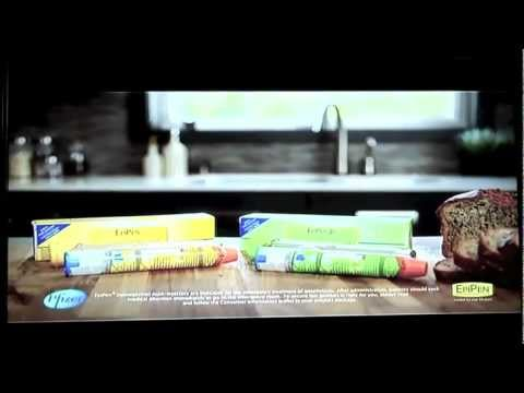 Siera B in the a commercial for Pfizer's New EpiPen