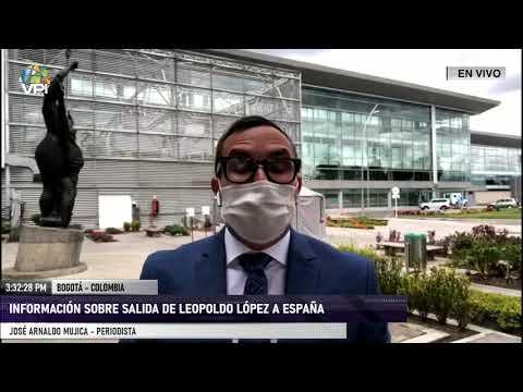 Últimos detalles de la salida de Leopoldo López a España - VPItv