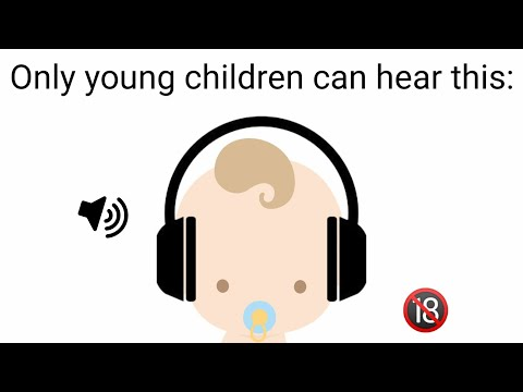 Only babies can hear this sound