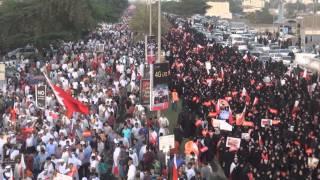#Bahrain: Opposition Massive Rally