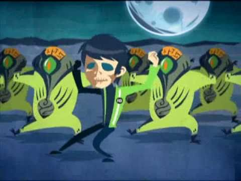 Cartoon Network ben 10 michael jackson