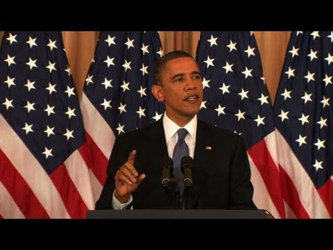 Watch President Obama's Full Speech on Mideast Policy
