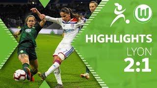Olympique Lyon - VfL Wolfsburg Frauen 2:1 | Highlights | UEFA Women's Champions League