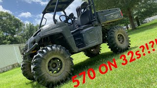 8. 2018 Polaris Ranger 570 FULLSIZE on 32s!!