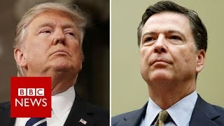 FBI chief James Comey fired by Trump