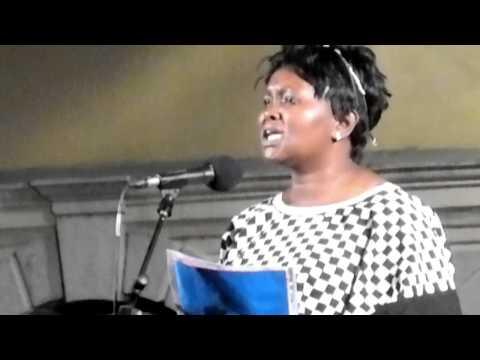 Delphine Atangana – Nkosi Sikelele Africa (Muggia, 6.7.2013)