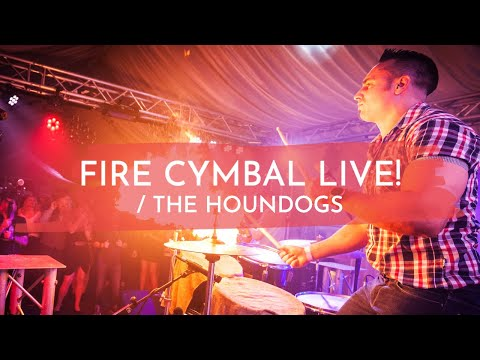 The Houndogs - Fire Cymbal LIVE!