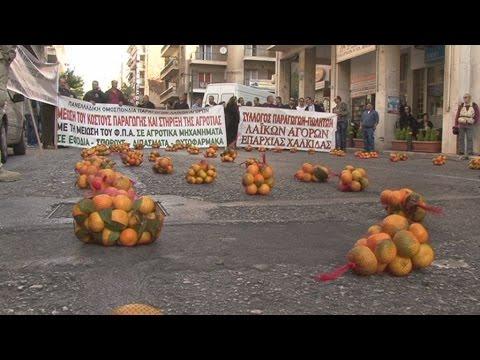 Παναγροτικό συλλαλητήριο στο κέντρο της Αθήνας
